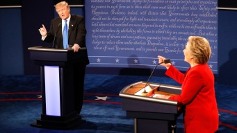 Clinton and Trump Face off in Fiery First Debate