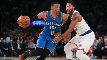 Knicks Fall to Thunder 112-103