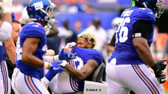 Beckham Done for Year as Giants' Abysmal Season Drags On