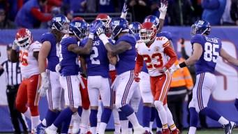 Giants Beat Chiefs, 12-9