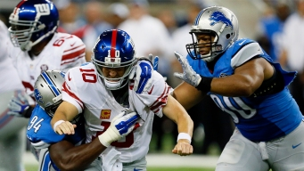Giants Walloped by Stafford, Lions in 35-14 Loss