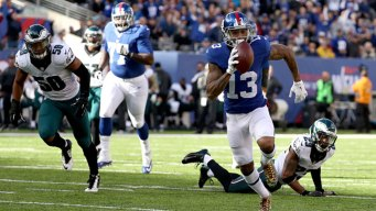 Giants Hold Off Eagles in 28-23 Win