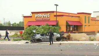 High-Speed Chase Ends in Deadly Crash