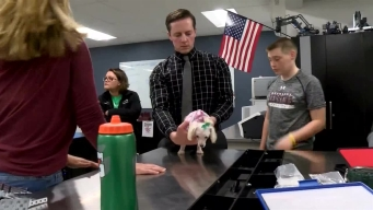 NY Students Build Custom Wheelchair for Puppy