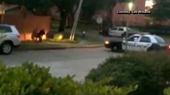 Houston Shooting Caught on Camera