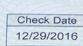 How to Cash Dated Checks