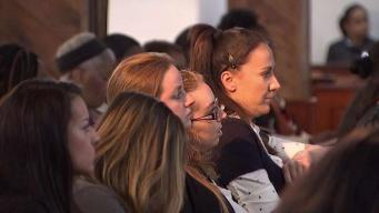 Hundreds of Female NYPD Officers Come Together