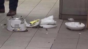 Instant Pot Sparks Scare at Subway Station
