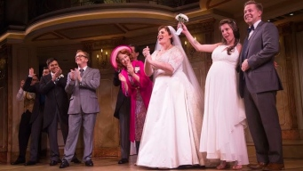 "Couple Weds at ""It Shoulda Been You"""