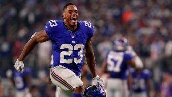 Giants Hope RB Jennings Is Back for Game Against Vikings