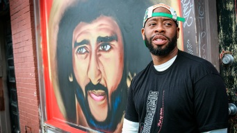 Kaepernick Murals Spring Up in Atlanta After Art Demolished