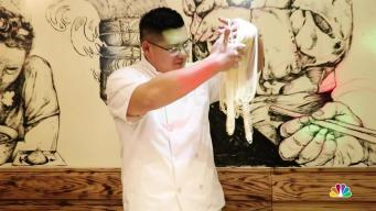 NYC Chef Makes Noodle Pulling into an Artform