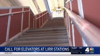 LIRR Riders in Wheelchairs Call for Station Elevators