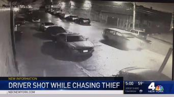 Livery Driver Shot While Chasing Thief