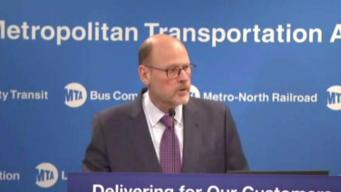 MTA Head Announces Plan to Fix and Modernize Subways