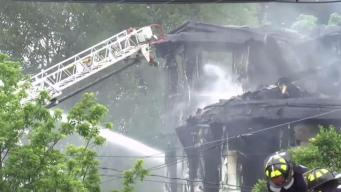 Man Leaps From Burning Westchester Building