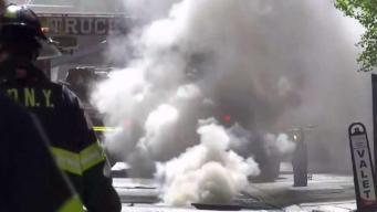 Manholes Explode One After Another in Midtown