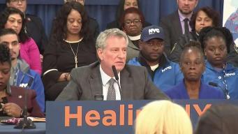 Mayor Pledges Millions to Fight Bronx Opioid Epidemic