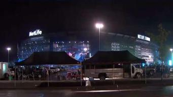 MetLife Stadium Temporarily Evacuated Due to Weather