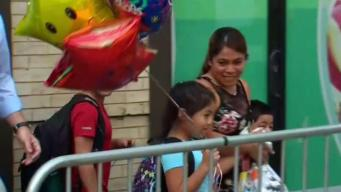 Migrant Mom Reunited With Kids in NYC