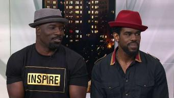 "Mike Colter & Mustafa Shakir on ""Luke Cage"""