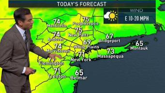 Forecast for Monday, June 11