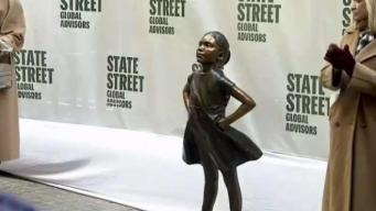Moving Day for Fearless Girl Statue