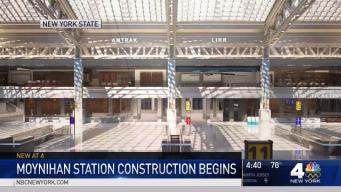 Moynihan Train Hall Construction Starts