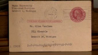 Missing Letter Is Finally Delivered -- 62 Years Late