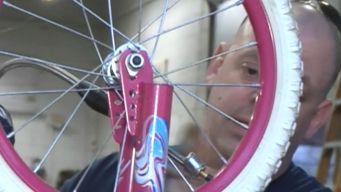 Terminal Illness Can't Stop 'The Bike Man'