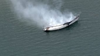 Good Samaritans Pull Family From Burning Boat