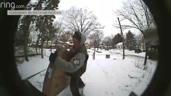 Porch Pirate Steals Crib Off Mom-to-Be's Stoop, Video Shows