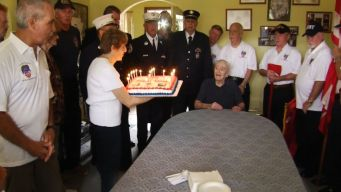 New York's Oldest Firefighter Turns 103