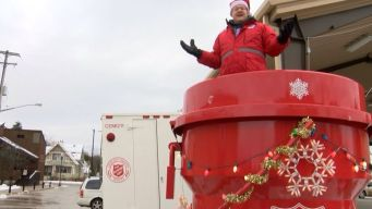 Man Commits to Live in Giant Red Kettle for Charity