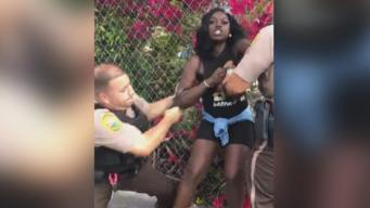 'I Wanted to Call My Kid': Woman's Violent Arrest Draws Ire