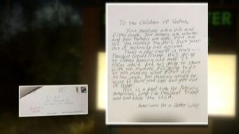 Letter to Mosque Addresses 'Children of Satan'