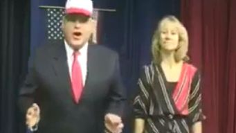 Principal Suspended Over Trump Skit
