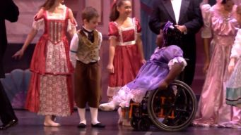 Girl With No Feeling Below Hips Awes in 'Nutcracker'