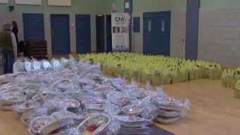 NJ Food Bank Running Short on Thanksgiving Supplies