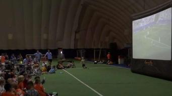 NJ Kids Have Watch Party for US Women's Soccer Team