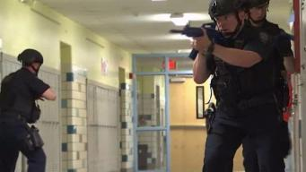 NJ Students Participate in Active Shooter Drill