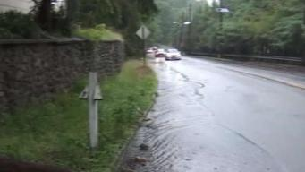 NJ Town Deals With More Rain After Weekend Deluge