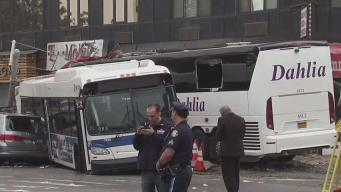 NTSB Begins Investigation into Deadly Queens Bus Crash