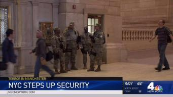 NYC Steps Up Security in Wake of Manchester Attack