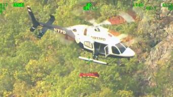 NYPD Rescues Hiker From Top of NY Peak