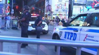 NYPD Safety Measures in Place in Times Square
