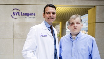 NYC Hospital Completes Face Transplant on Burned Firefighter