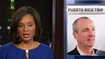 New Jersey Governor-Elect Heads to Puerto Rico