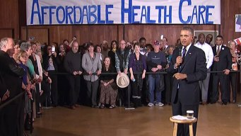 Obama Touts Obamacare in Dallas Amid Website Woes