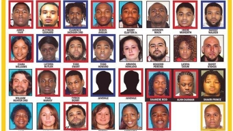 44 Named in 219-Count Gang Indictment: Prosecutors